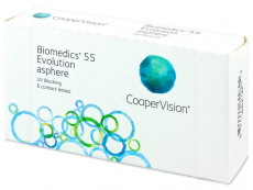 Biomedics 55 Evolution (6 lęšiai)