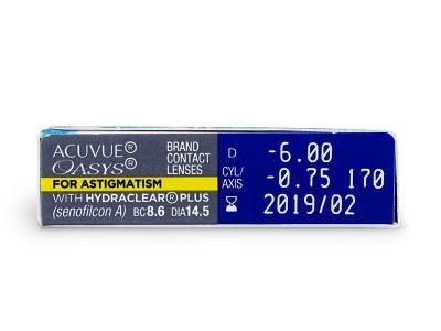 Acuvue Oasys for Astigmatism (6lęšiai)