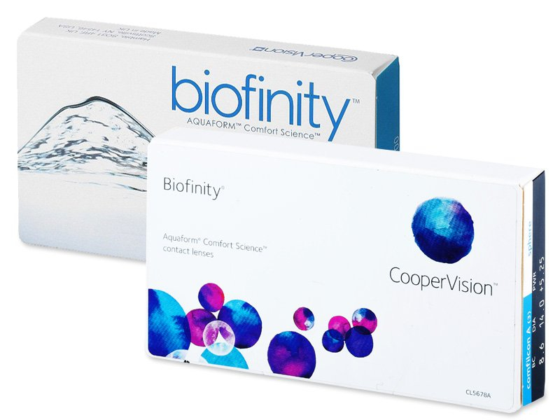 Biofinity (6lęšiai)