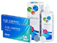 alensa.lt - kontaktiniai lęšiai - Air Optix Aqua (2x3lęšiai)