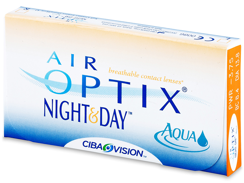 Air Optix Night and Day Aqua (6 lęšiai)